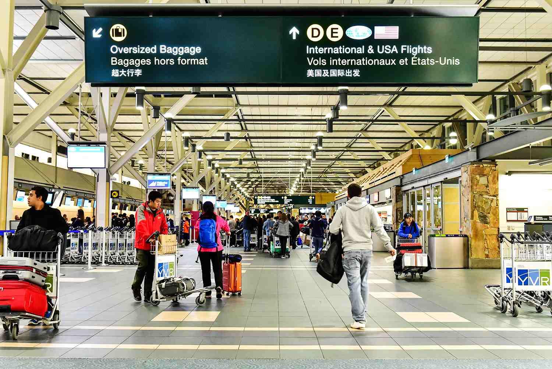 Aeropuerto Internacional de Vancouver (YVR) en Canadá