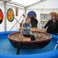 Boy in a Coracle