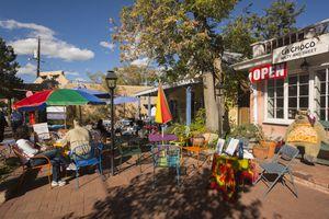 Albuquerque, Old Town street scene