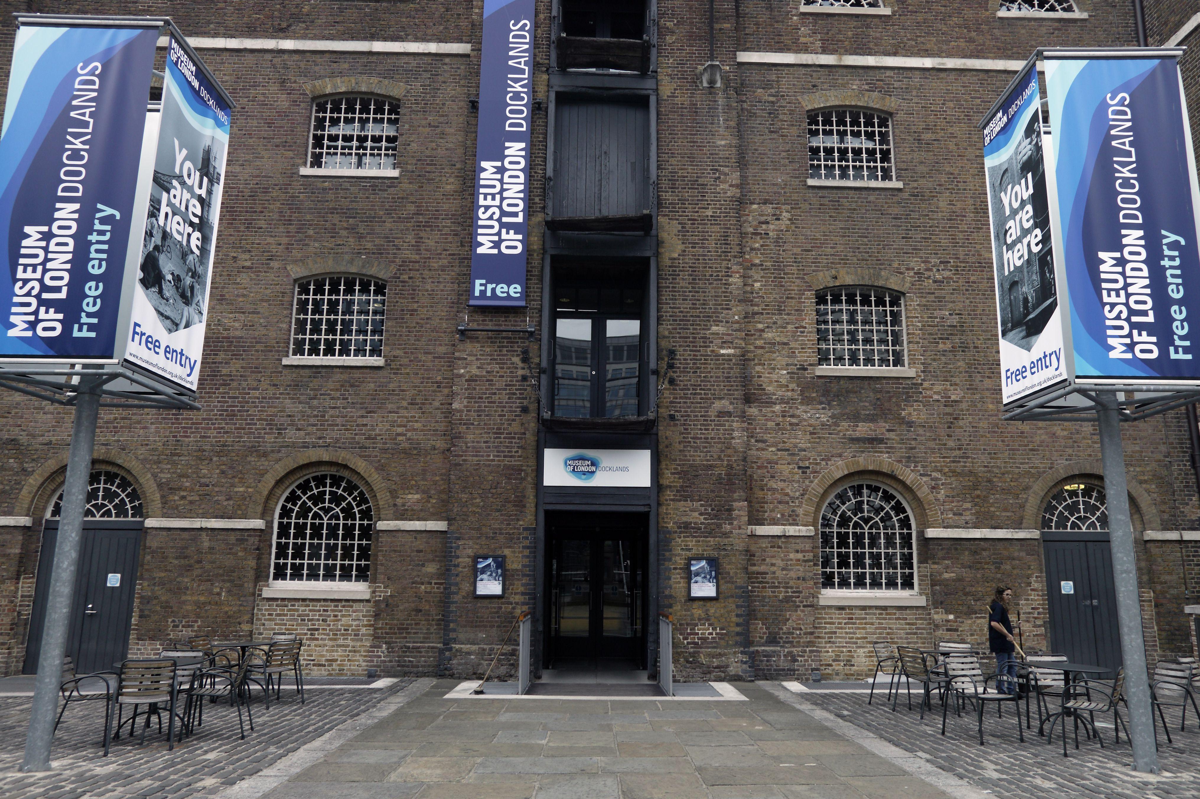 Museum of London Docklands.