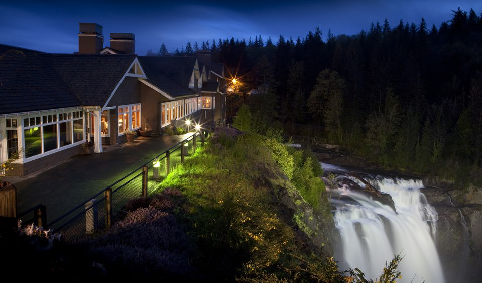 The Salish Lodge and Snoqualmie Falls