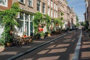 Shopping area around Prinsenstraat and Herenstraat in Amsterdam