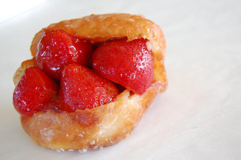 Strawberry Doughnut