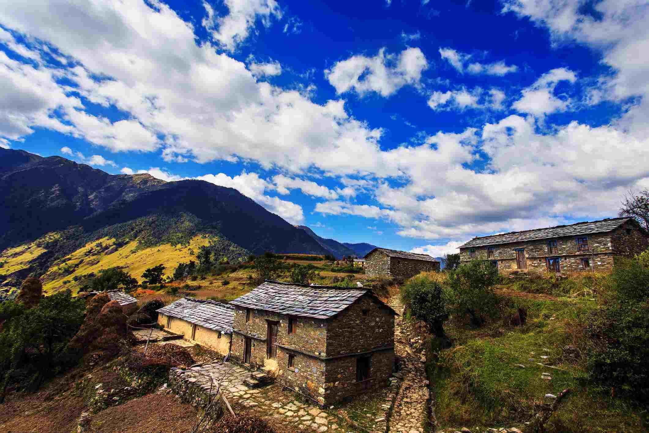 Village in Uttarakhand.