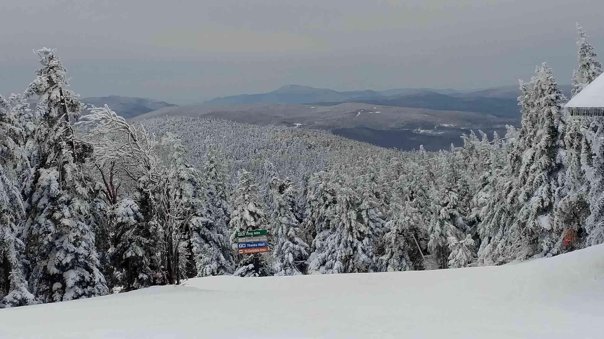 Mount Snow Summit in Vermont