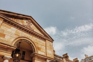 Low Angle View Of Covent Garden Market Building Against Sky