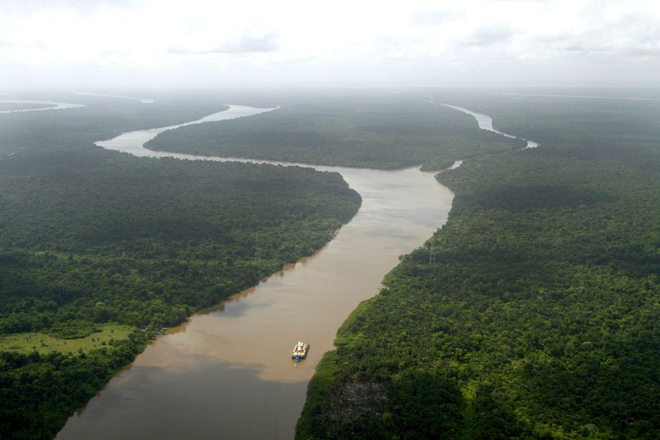 Amazon River, Near Belem