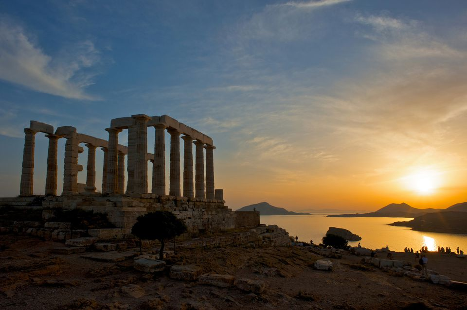 Poseidon's Temple at Cape Sounion