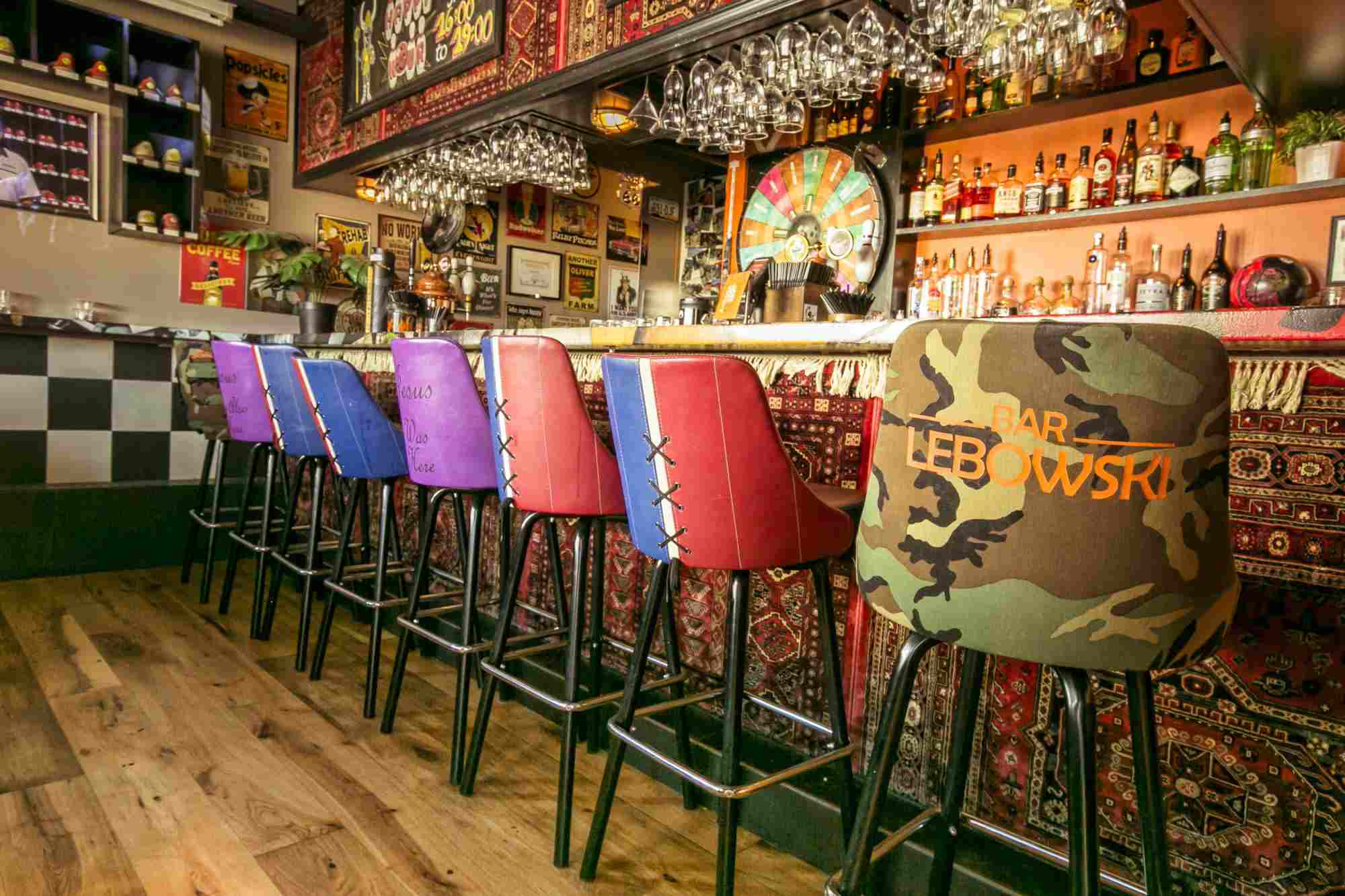 Lebowski Bar, Reykjavik Iceland