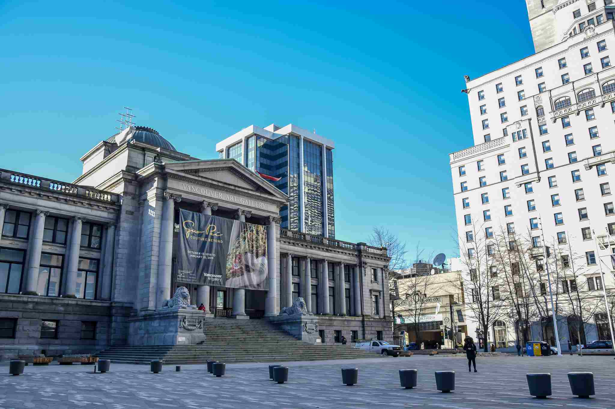 exterior of the Vancouver Art Gallery