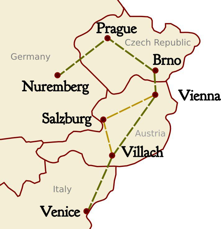 Itinerary For Exploring Central Europe