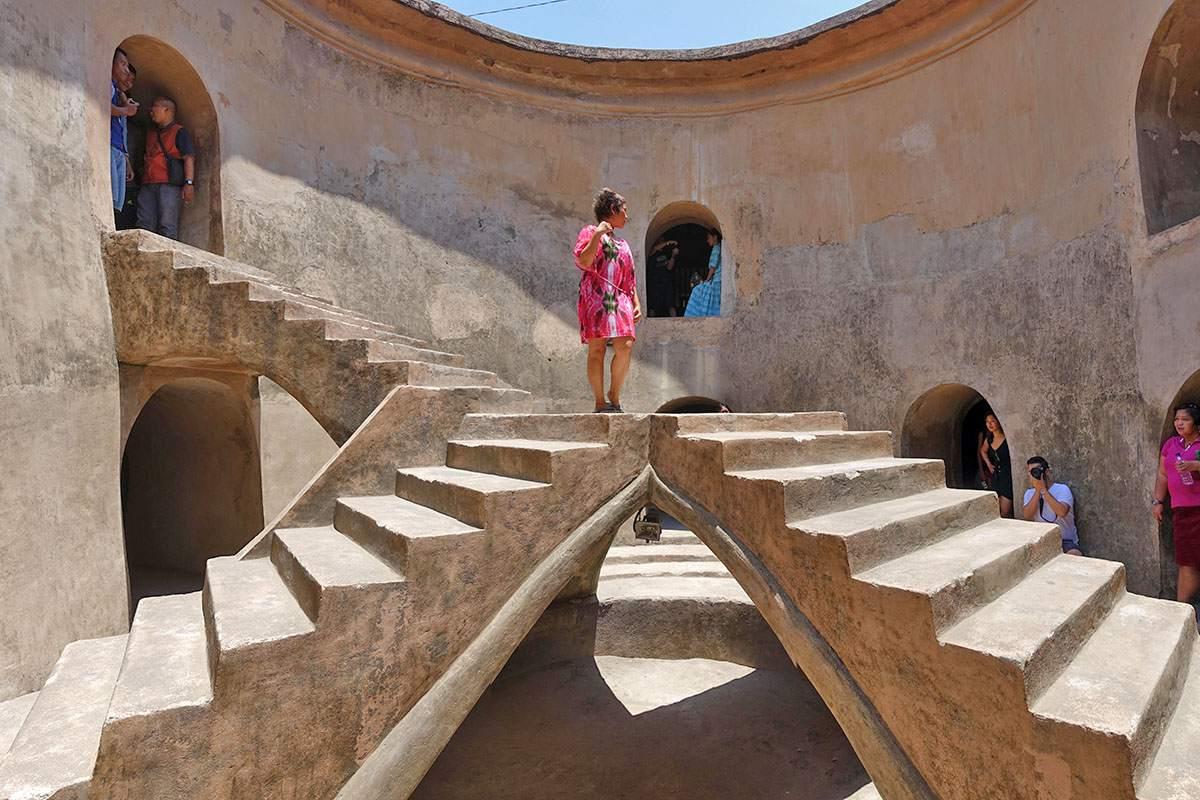 Staircase in Sumur Gumuling