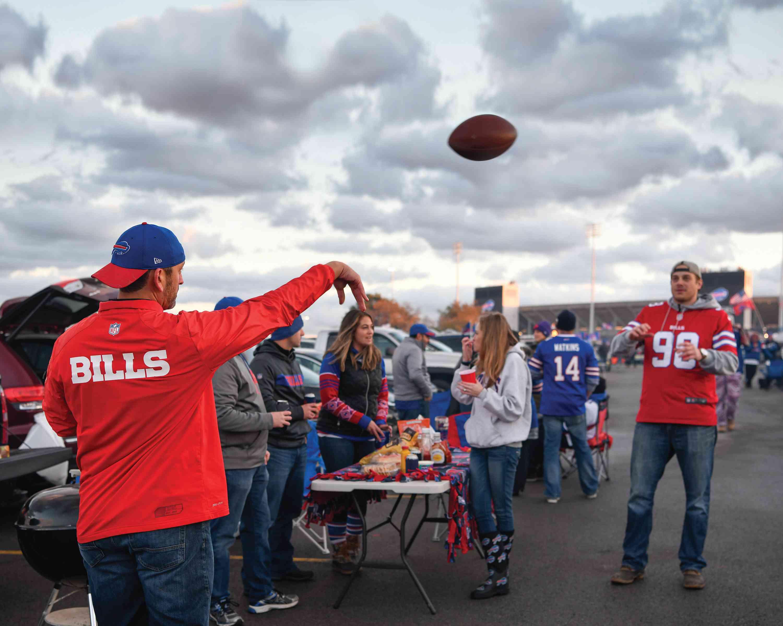 Buffalo Bills tailgating