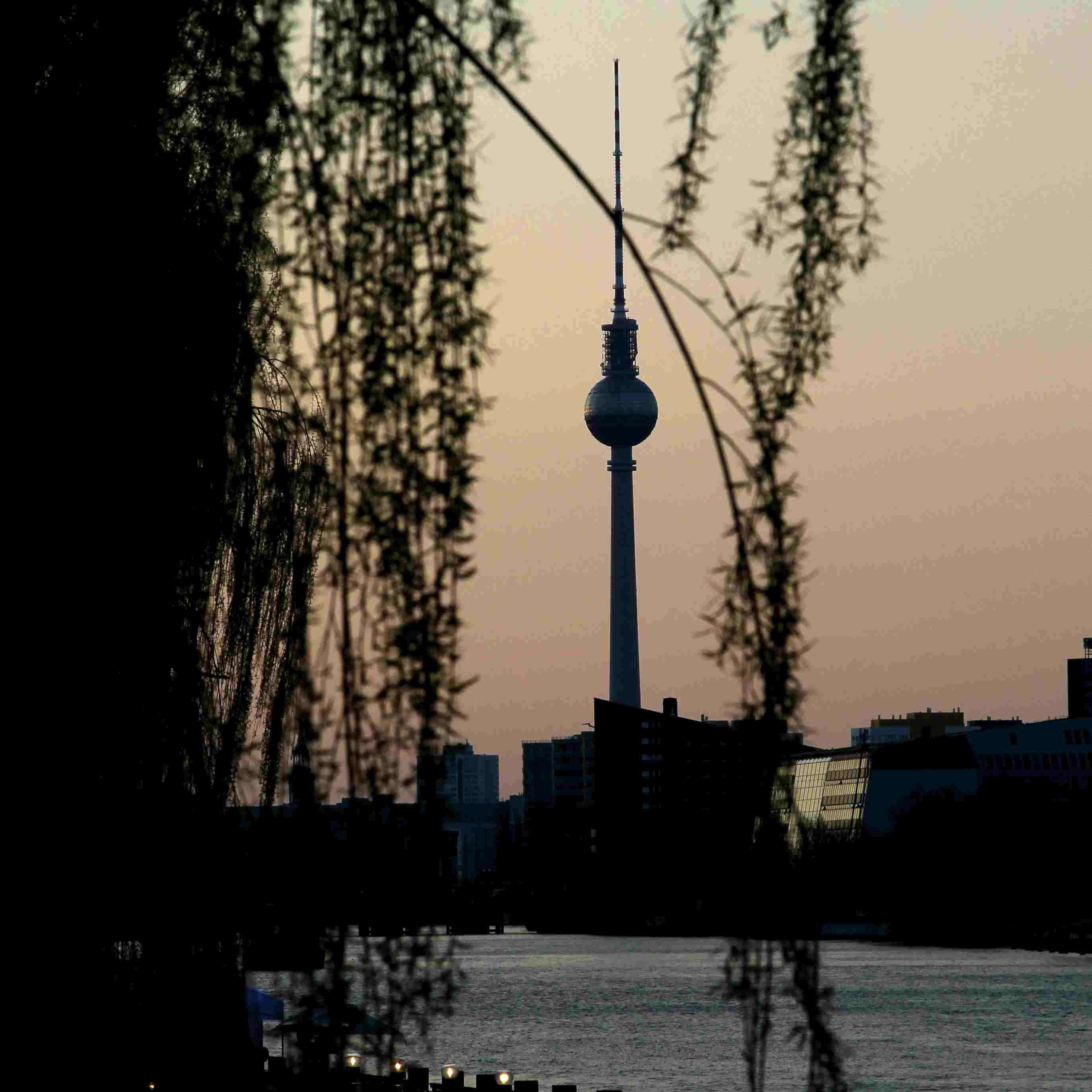 View of the TV Tower in Berlin