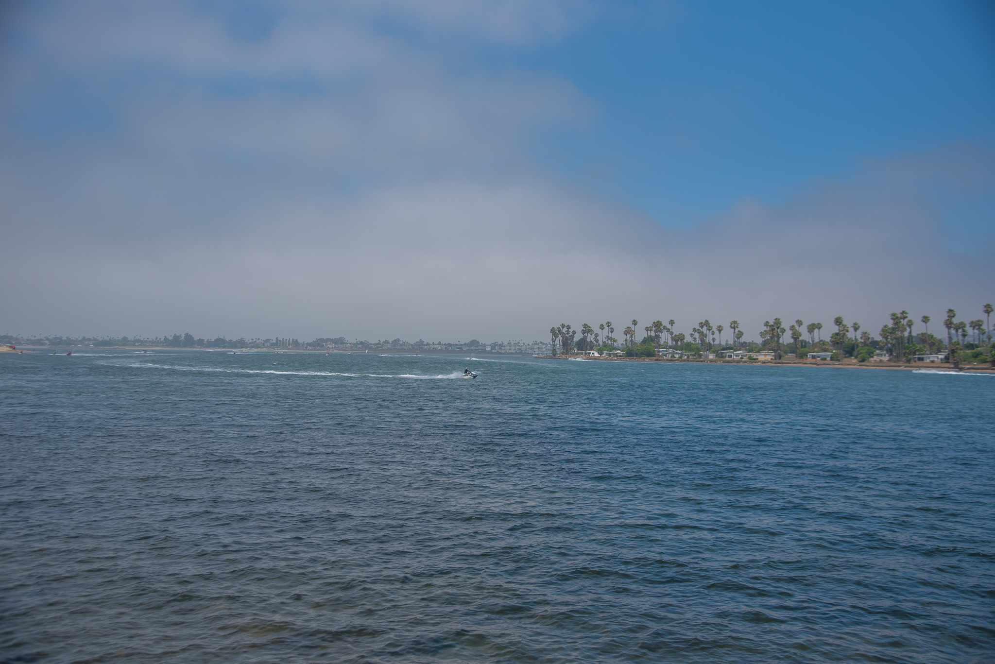 Mission Bay Park in San Diego