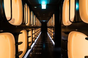 Not every budget hotel is a capsule hotel.