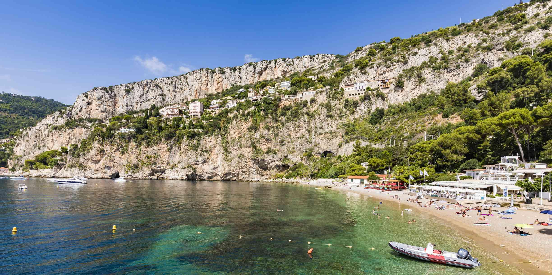 France, Provence-Alpes-Cote d'Azur, Cap-d'Ail, Plage Mala