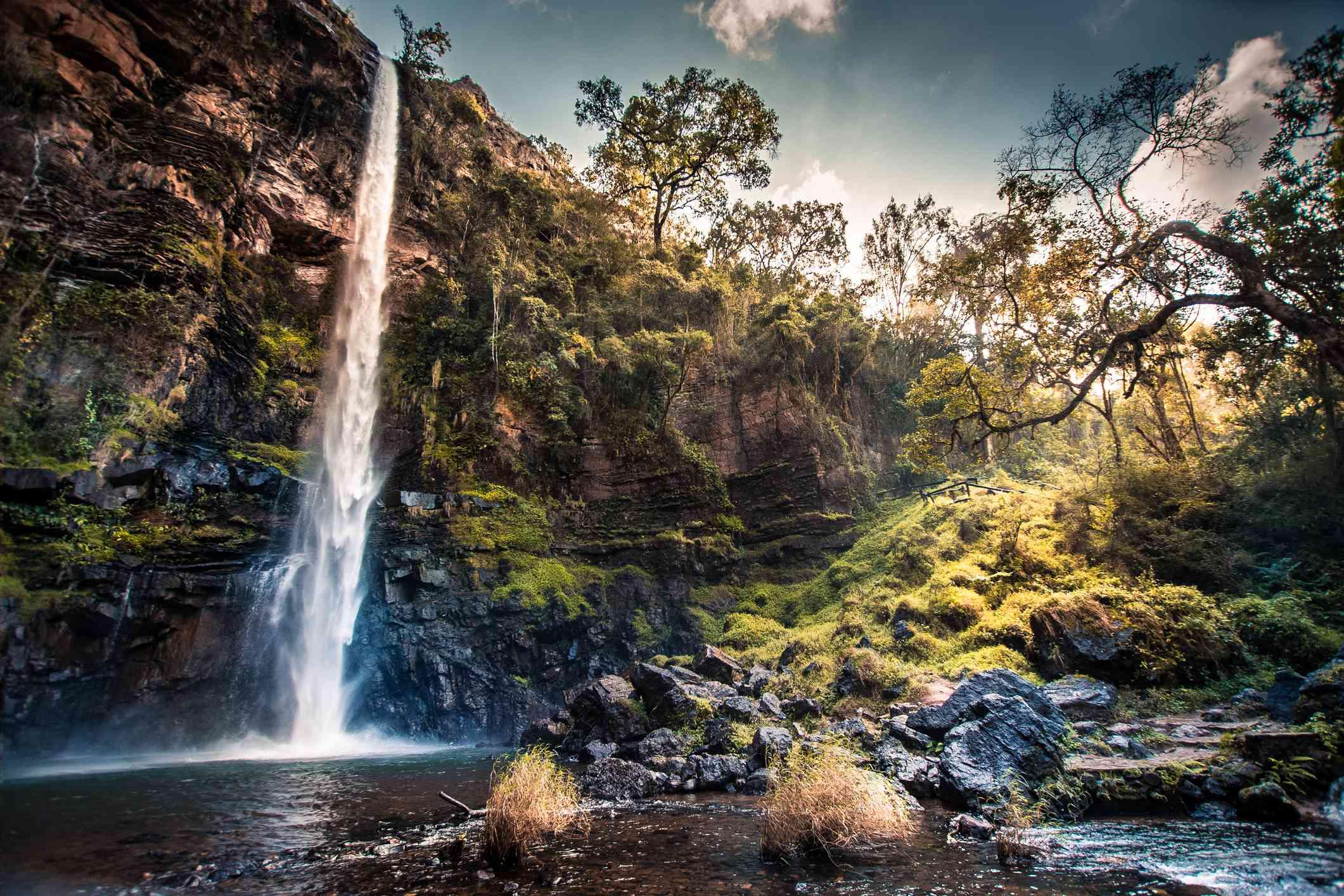 Lone Creek Falls in Mpumalanga, South Africa