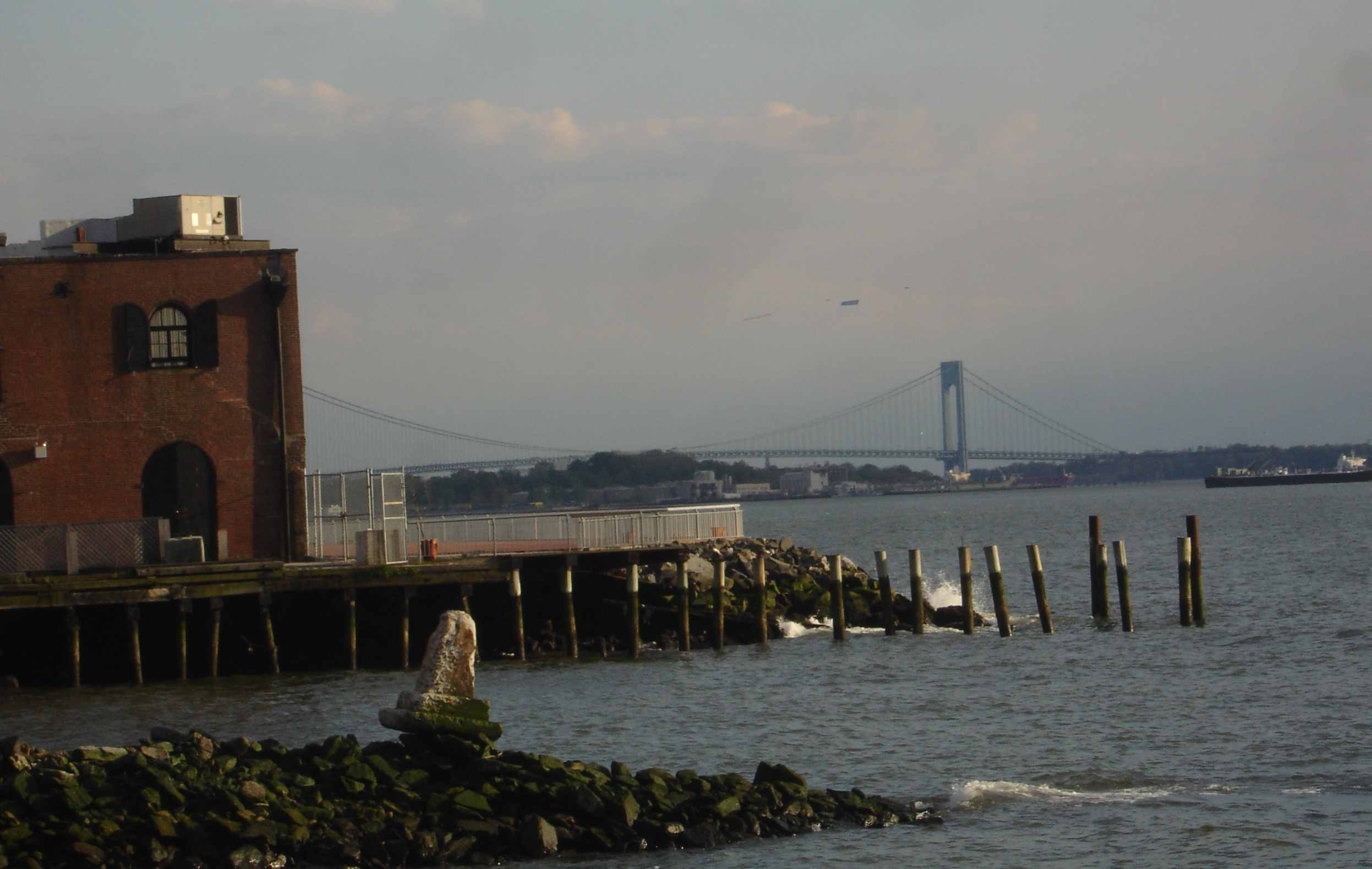Red Hook's beautiful, desolate waterfront views often surprise first-time visitors.