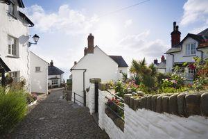 Clovelly Village. Devon. England. UK.