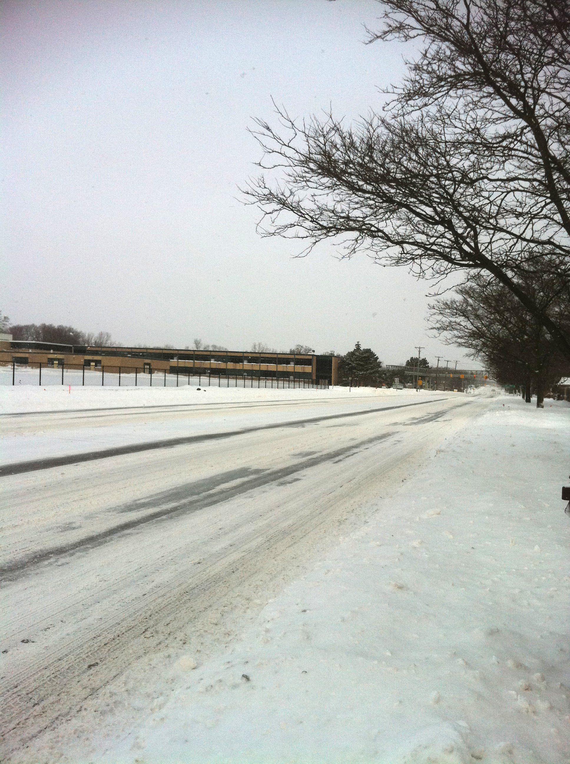 January snow in Metro Detroit