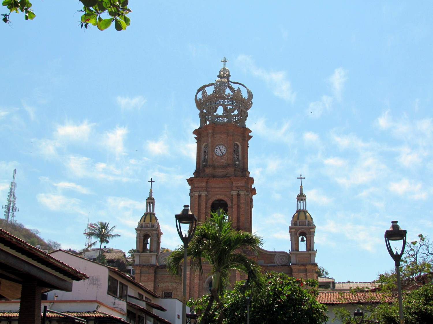 Puerto Vallarta's Cathedral with its distinctive crown