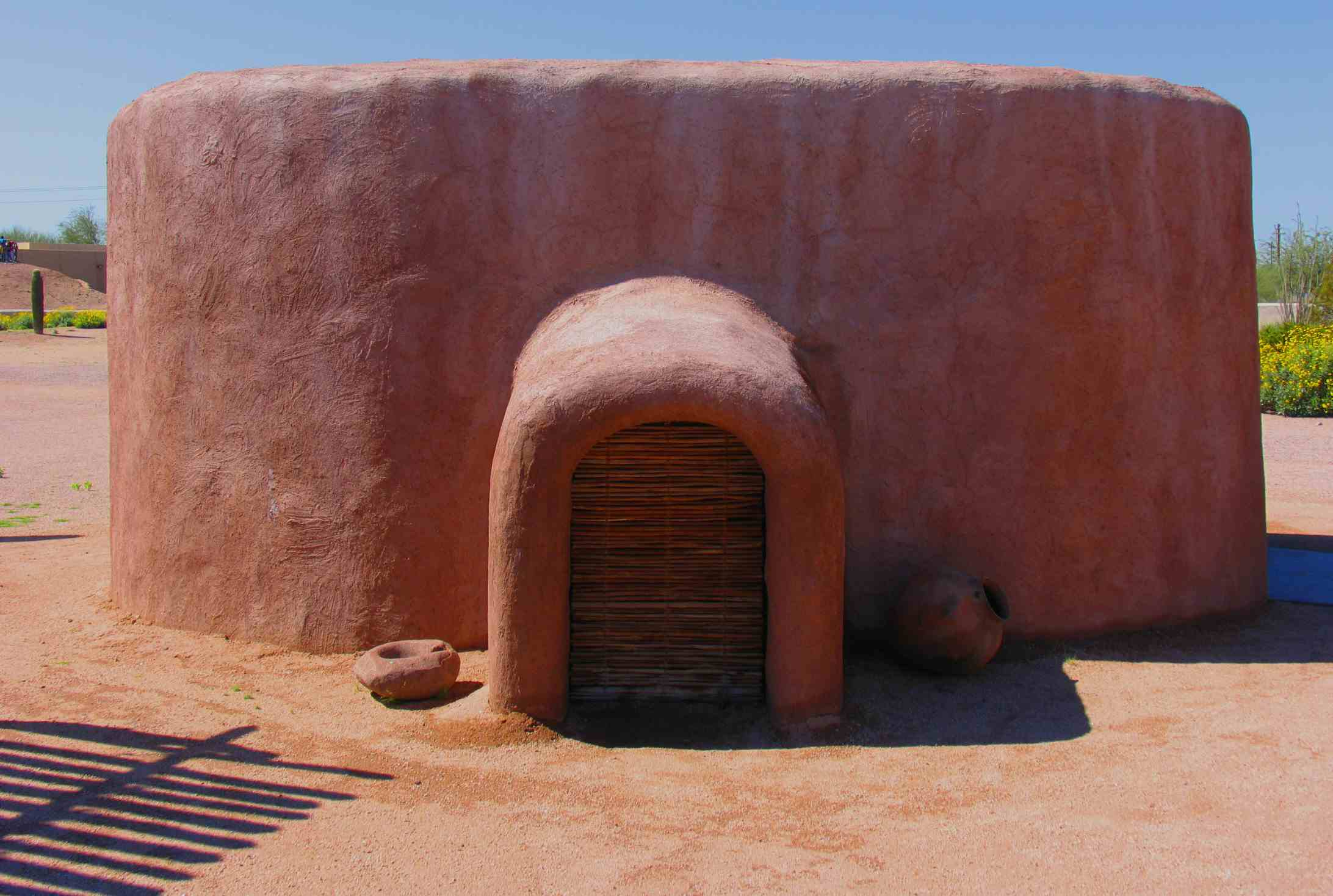 Dwelling at the Pueblo Grande Museum