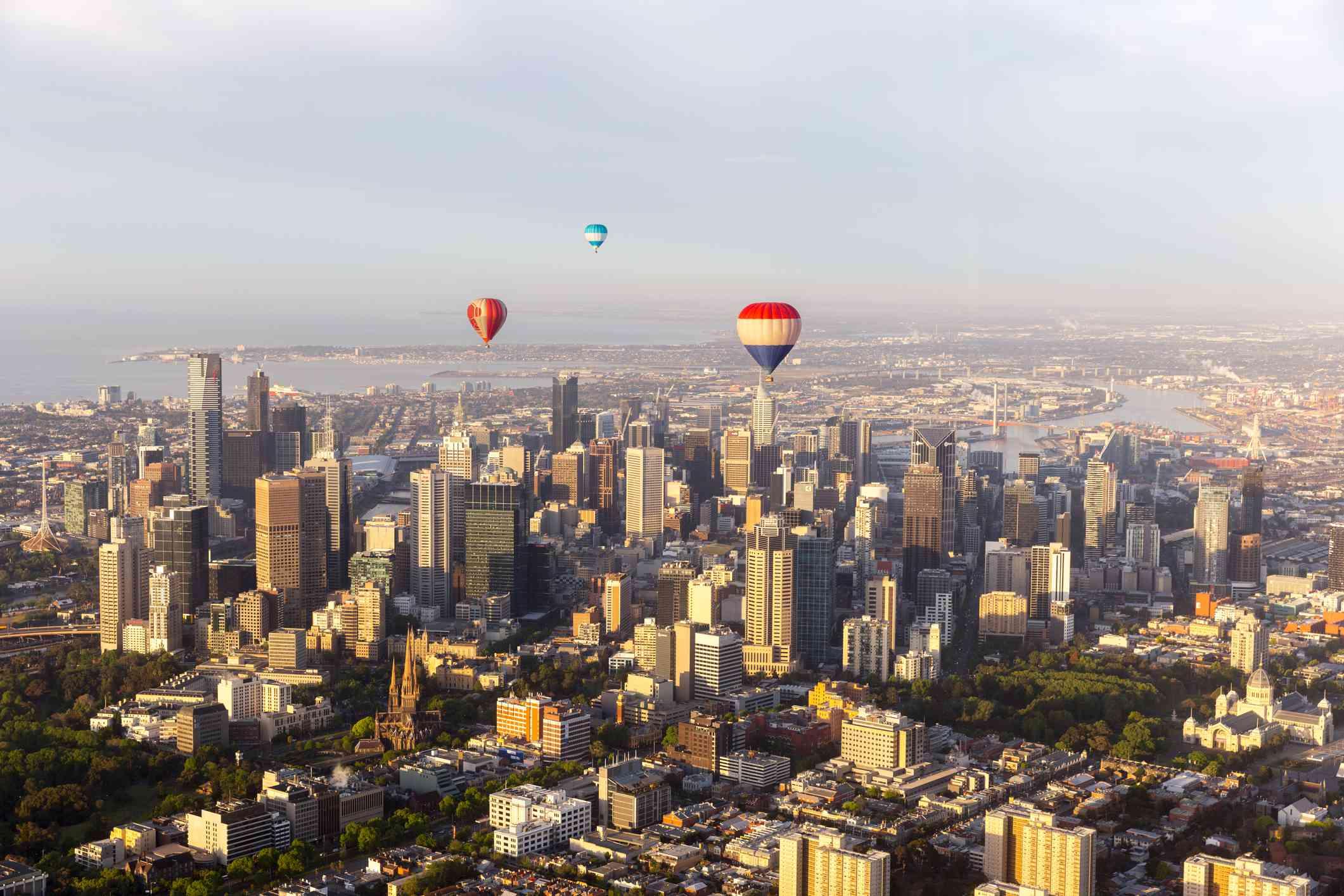 Globo aerostático Melbourne
