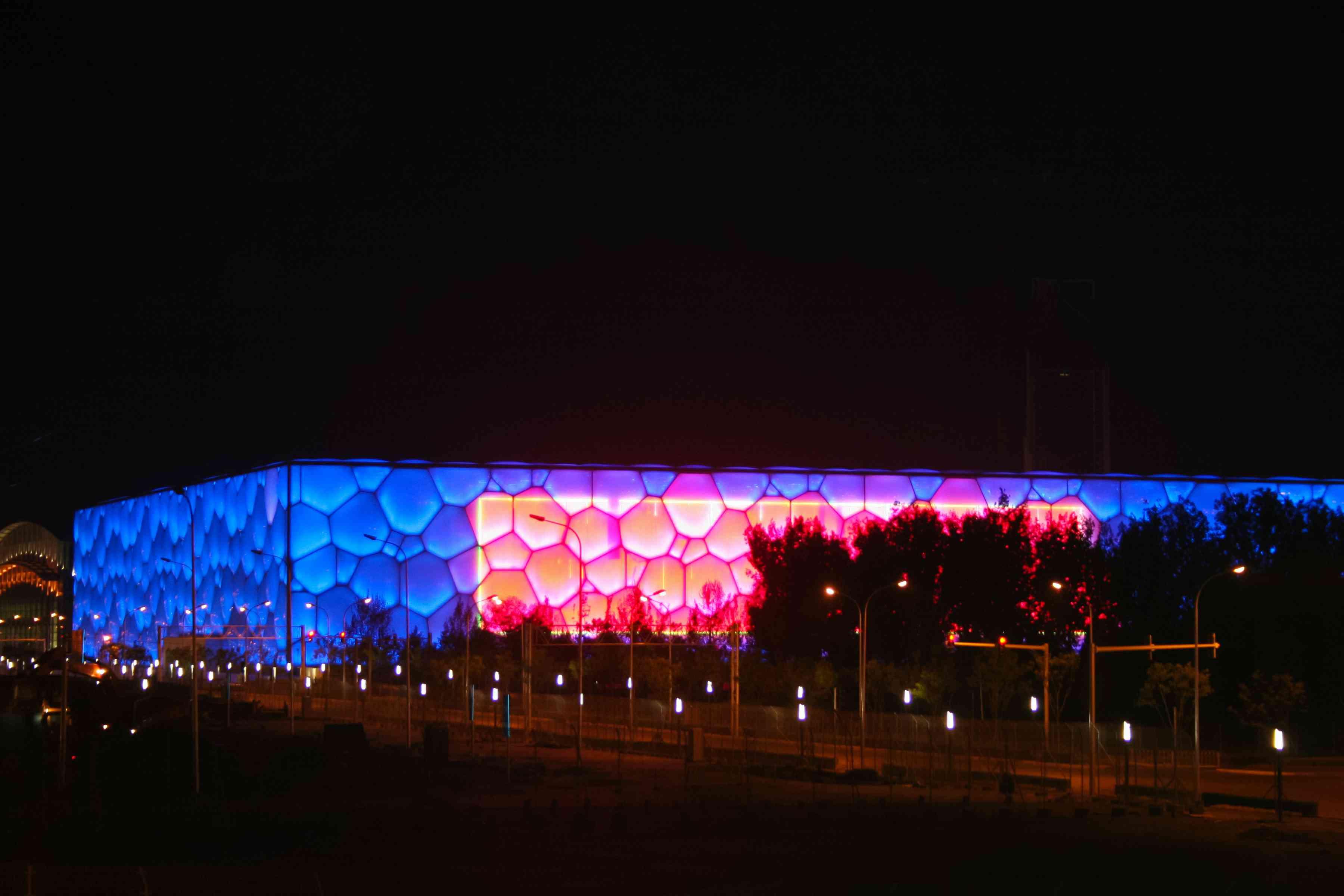 Beijing 's water cube