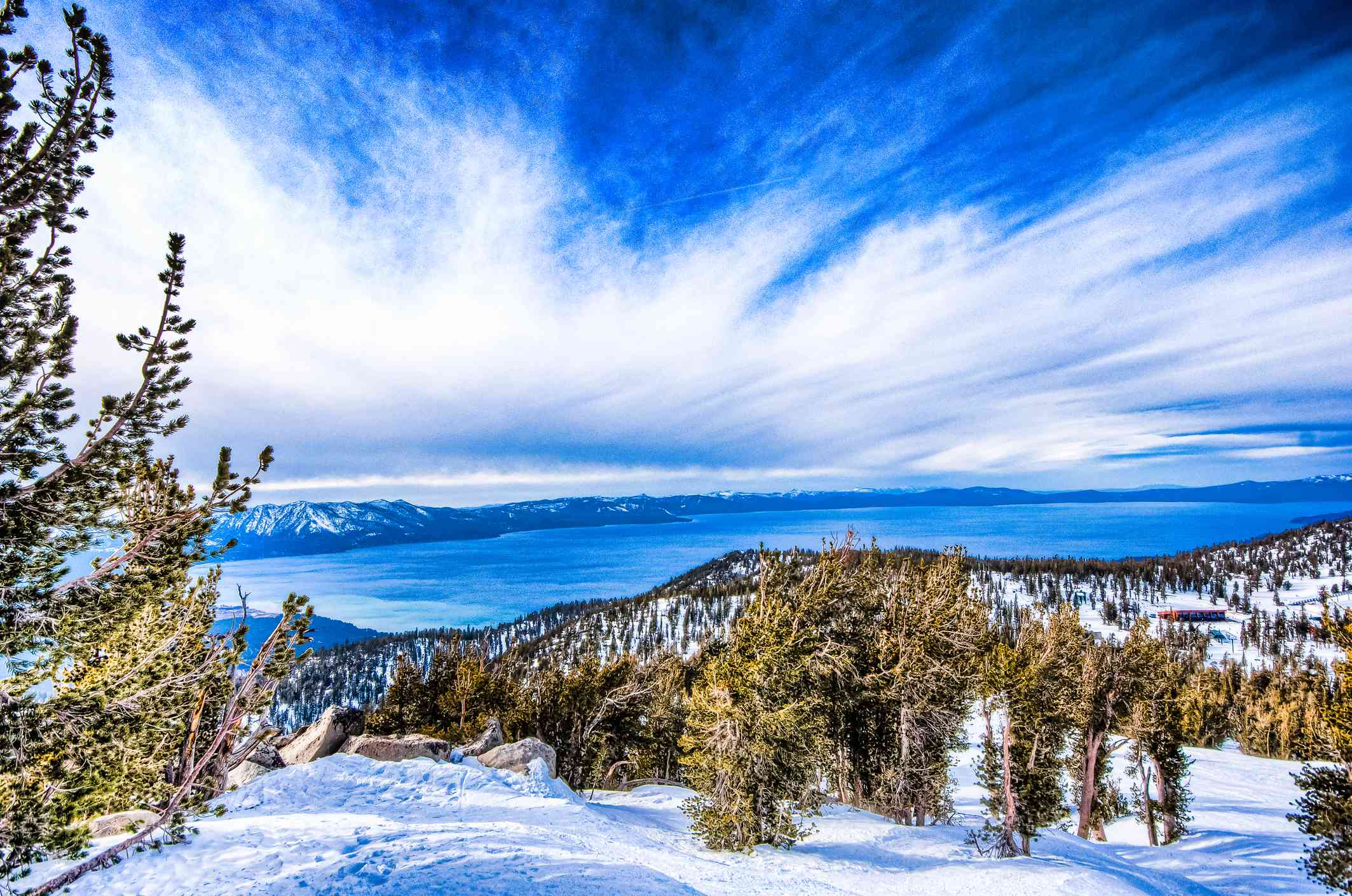 Lake Tahoe from Heavenly Mountain resort