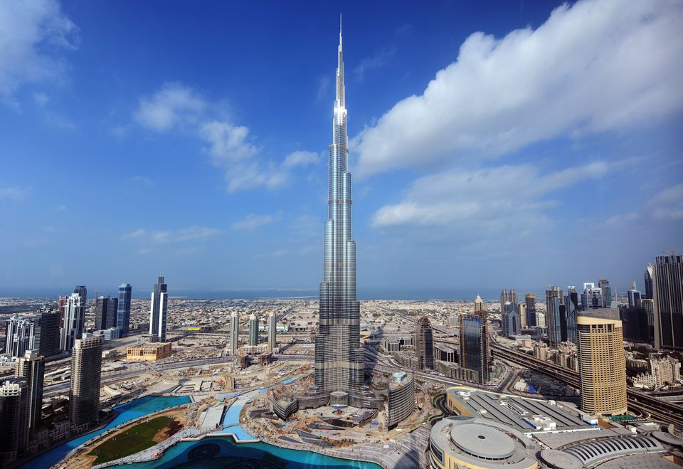 Burj Khalifa in Dubai, UAE.