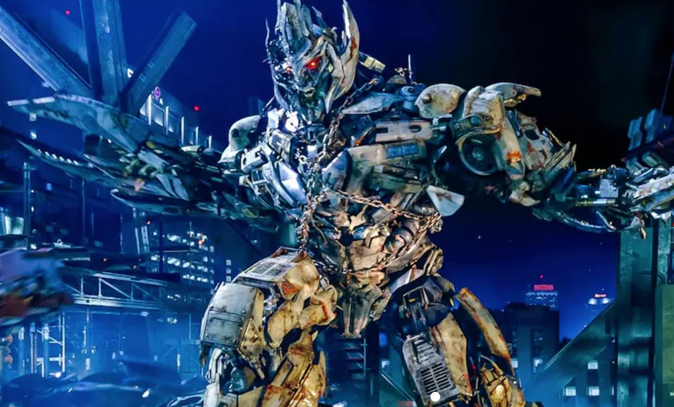 Paseo de los transformadores en Universal Studios