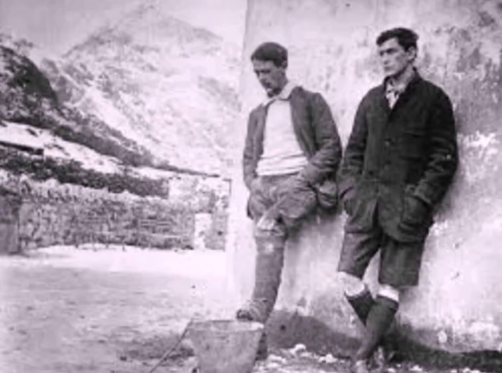 George Mallory and Andrew Irvine
