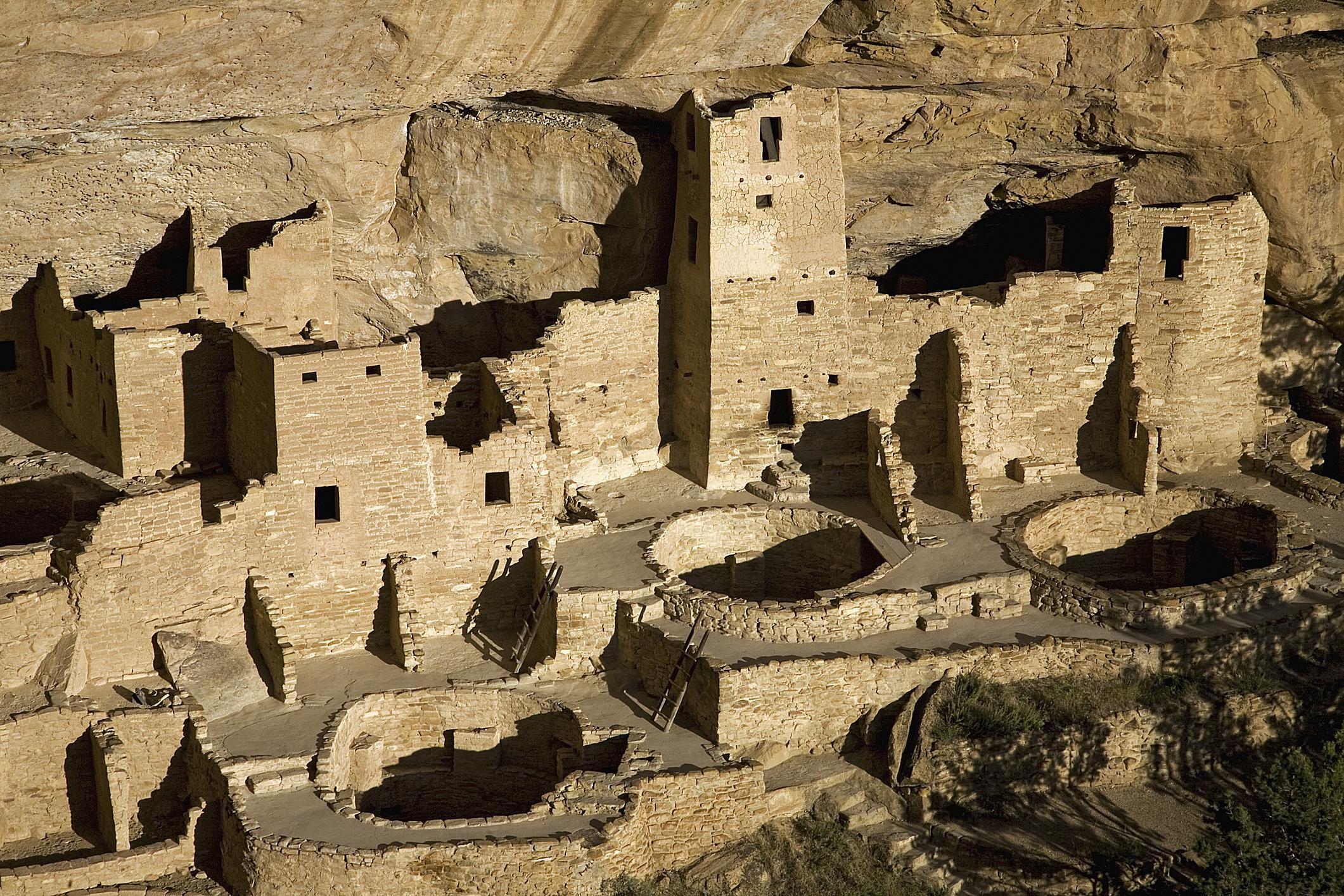 Cliffside Pueblo homes in Colorado