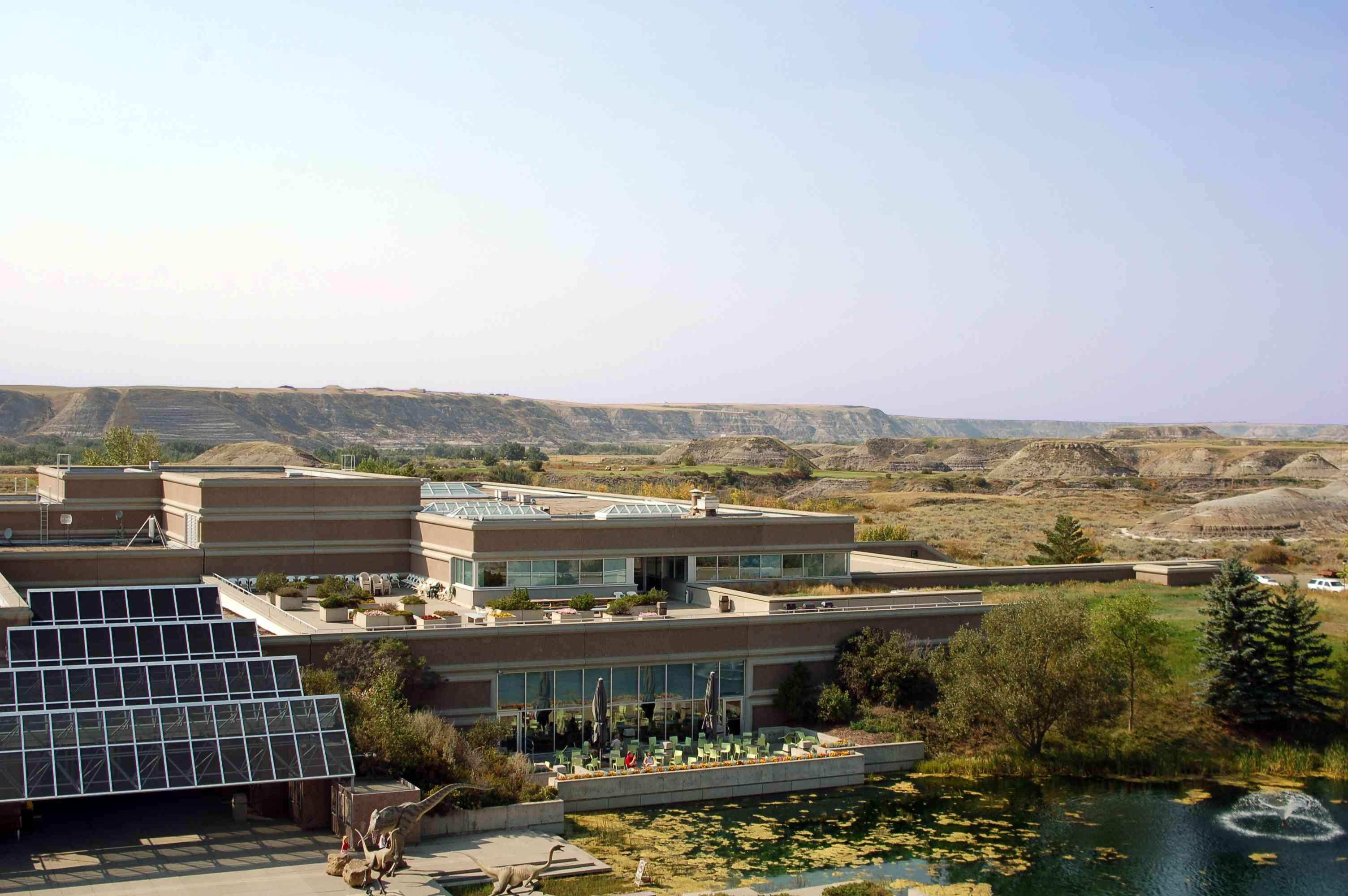 Tyrrell Museum in Alberta Badlands