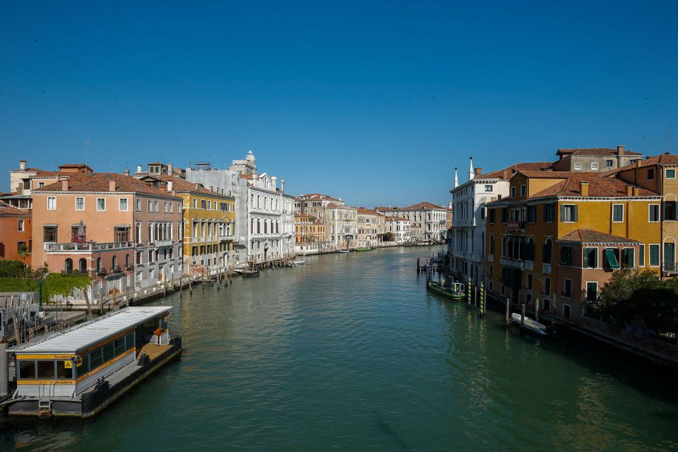 Venice during Coronavirus Lockdown
