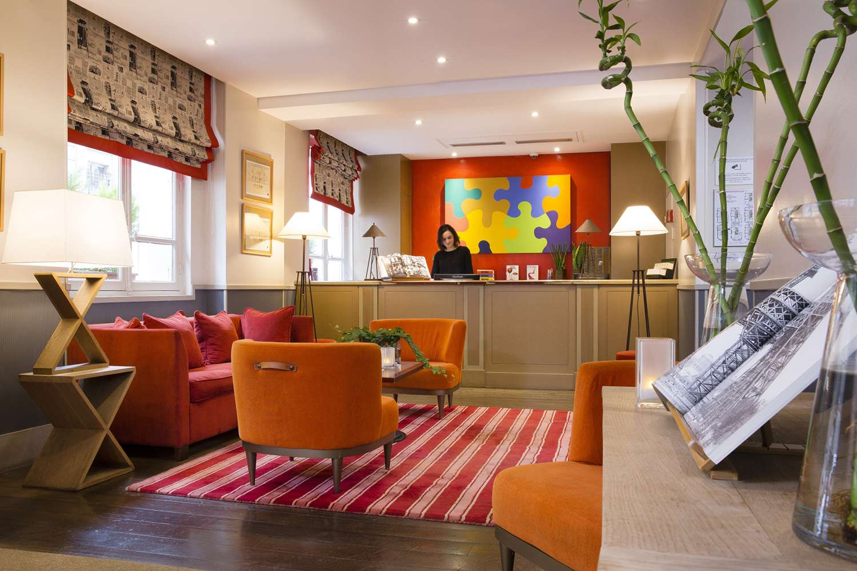 La Manufacture hotel lobby Paris