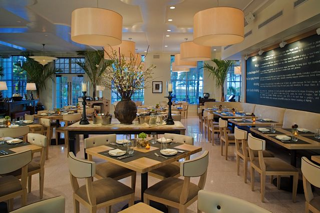 The Betsy - South Beach's excellent in-house restaurant, BLT Steak