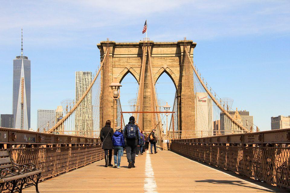 How to Walk Across the Brooklyn Bridge