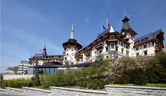 Dolder Grand hotel in Zurich, Switzerland