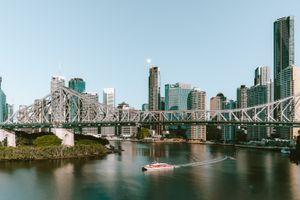 A river cruise in Brisbane