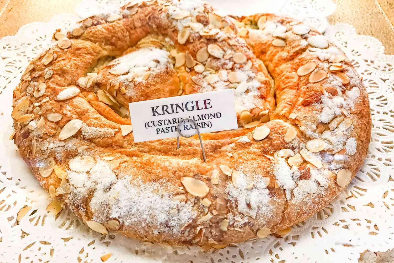 Kringle Pastry at Mortensen's Bakery in Solvang, CA