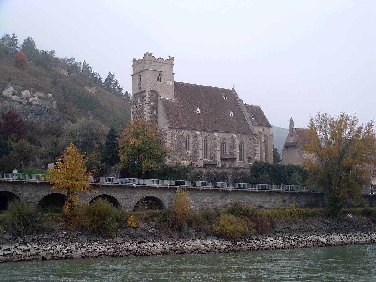 Wachau Valley Church in Austria on the Danube River