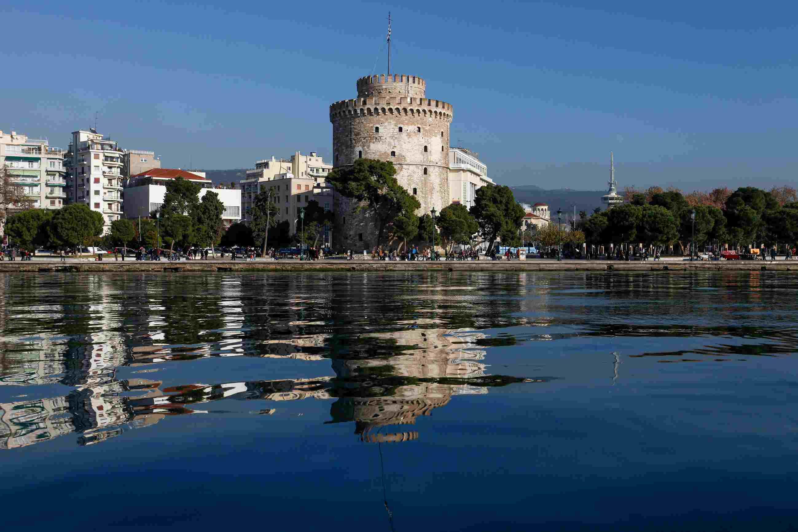 The White Tower, symbol of Thessaloniki