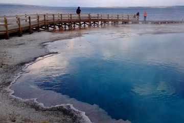 yellowstone, national park, geyser, Yellowstone Lake