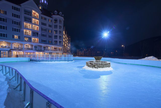 The Rink at RiverWalk in Lincoln, NH