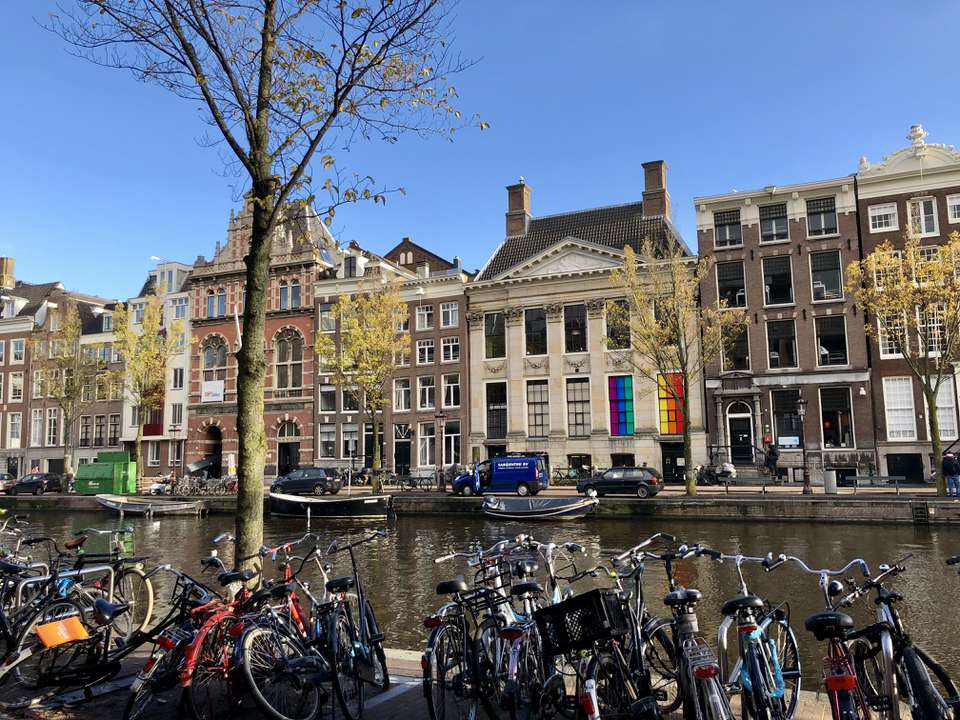 Amsterdam Canal During Gay Pride