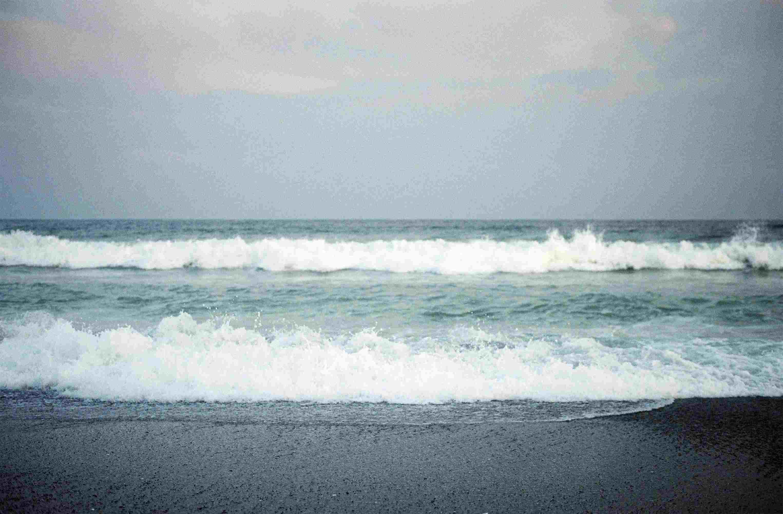 Wave on coast at Chiba Beach