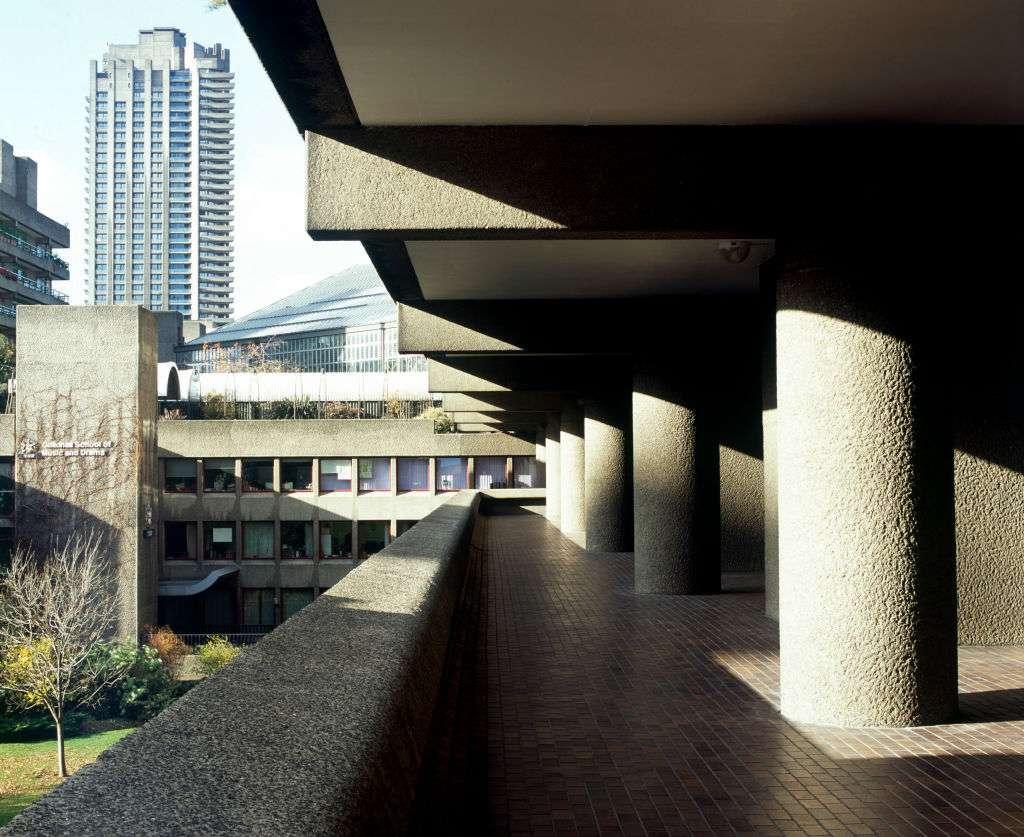 The Barbican Centre and Estate in London