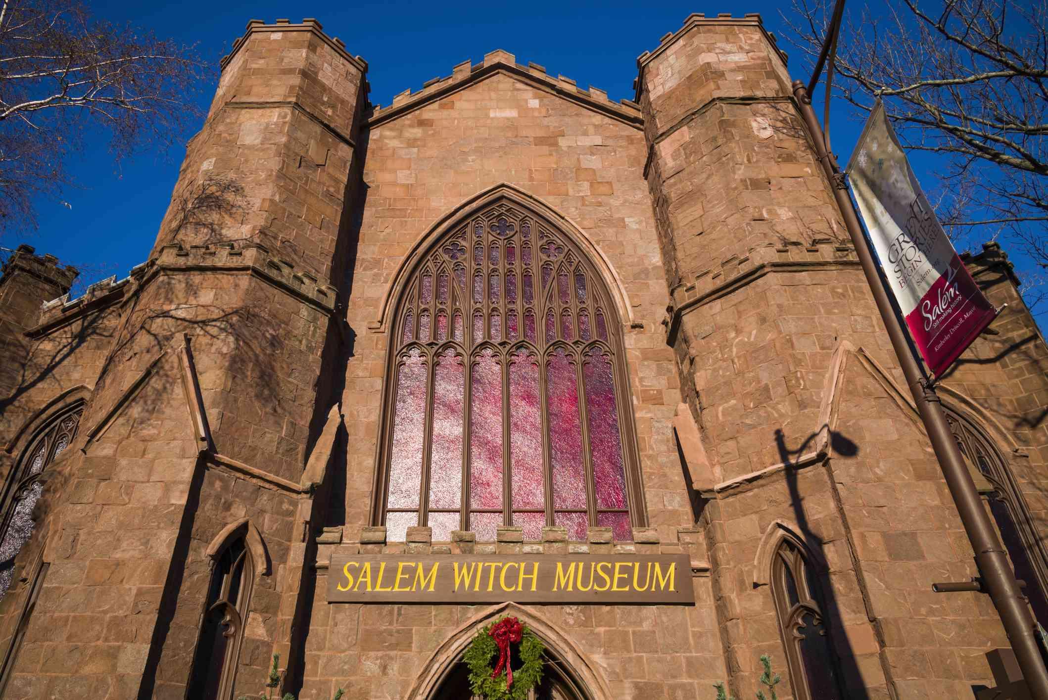 Salem Witch Museum in Salem Massachusetts